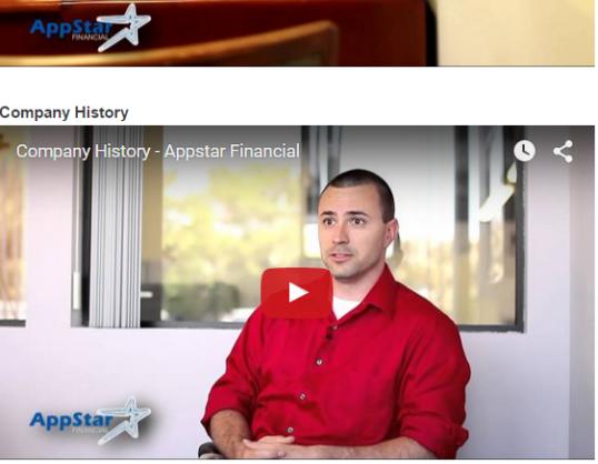 Appstar History